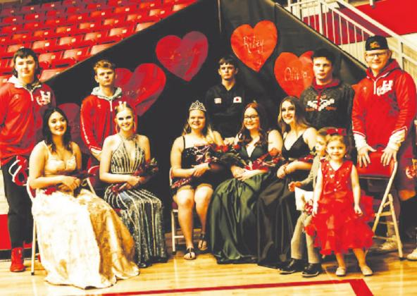Hamlett Named Wrestling Homecoming Queen