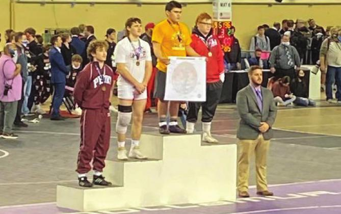 Lytal Finishes Second in State Wrestling Championships